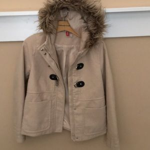 H&M Divided brand women's size 6 winter jacket.